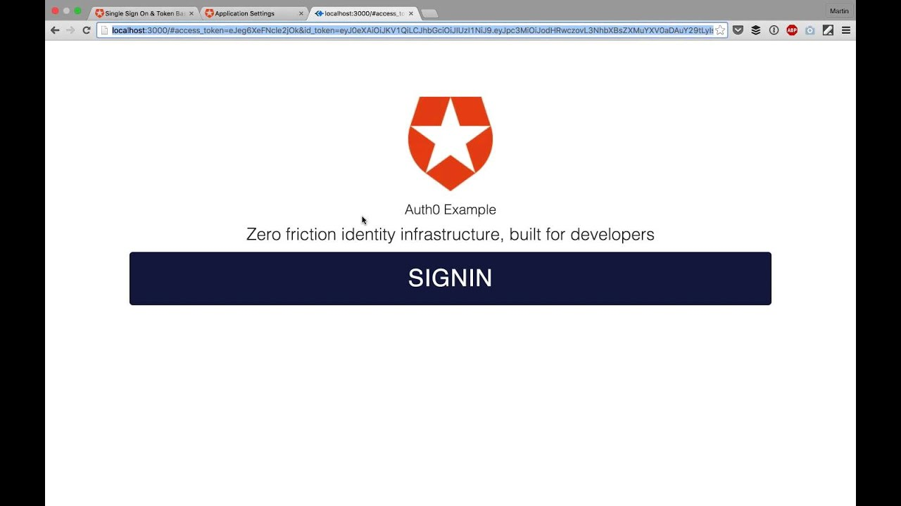 Build Your First Single Page App with Auth0