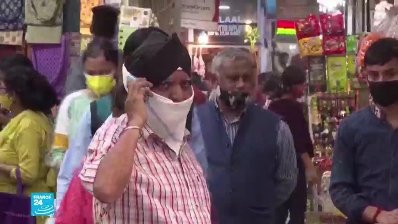 الهند: نيودلهي تحذر من معركة -قاتمة- ضد فيروس كورونا والموجة الثانية تفتك بالشباب  - 12:00-2021 / 4 / 20