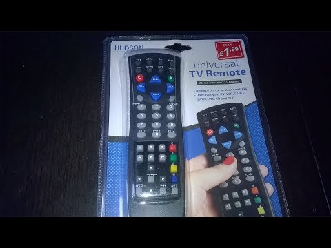 Poundstretcher Remote REVIEW With Code Sheet