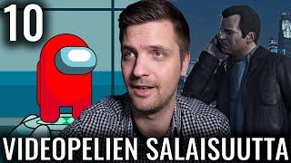 10 VIDEOPELEIHIN KÄTKETTYÄ SALAISUUTTA #4