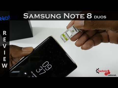Samsung Galaxy Note 8 DUOS Review