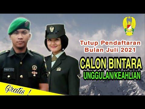 Jadwal Pendaftaran Bintara TNI AD Unggulan/Keahlian 2021