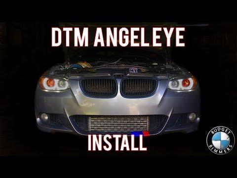 335i BavGruppe Halo/Demon Eye Install!