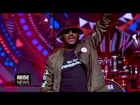 2 Baba's Performance at THISDAY/ARISE Group's Global Virtual Commemoration - Nigeria @ 60
