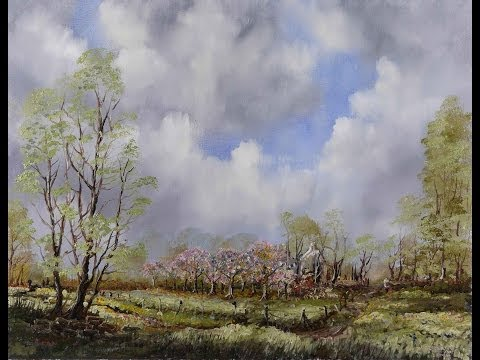 Apple Blossom Days – Time Lapse Painting