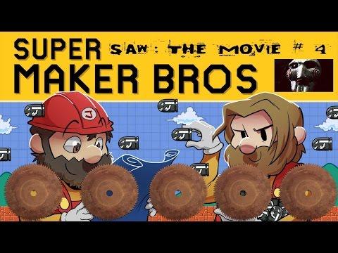 super-mario-maker-|-saw:-the-movie-ep.-4-|-super-beard-bros.
