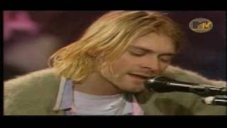 Nirvana - Jesus Doesn_t Want Me For A Sunbeam (HD) (Kurt Cobain live in New York Unplugged version)