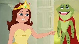 The Frog Prince - Fairy Tales In Hindi -  मेंढक राजकुमार - हिंदी परी कहानी - Hindi Pari Kahani