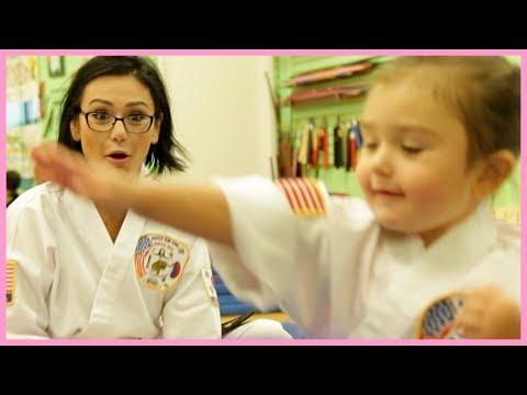 JWOWW Takes Meilani to Karate!