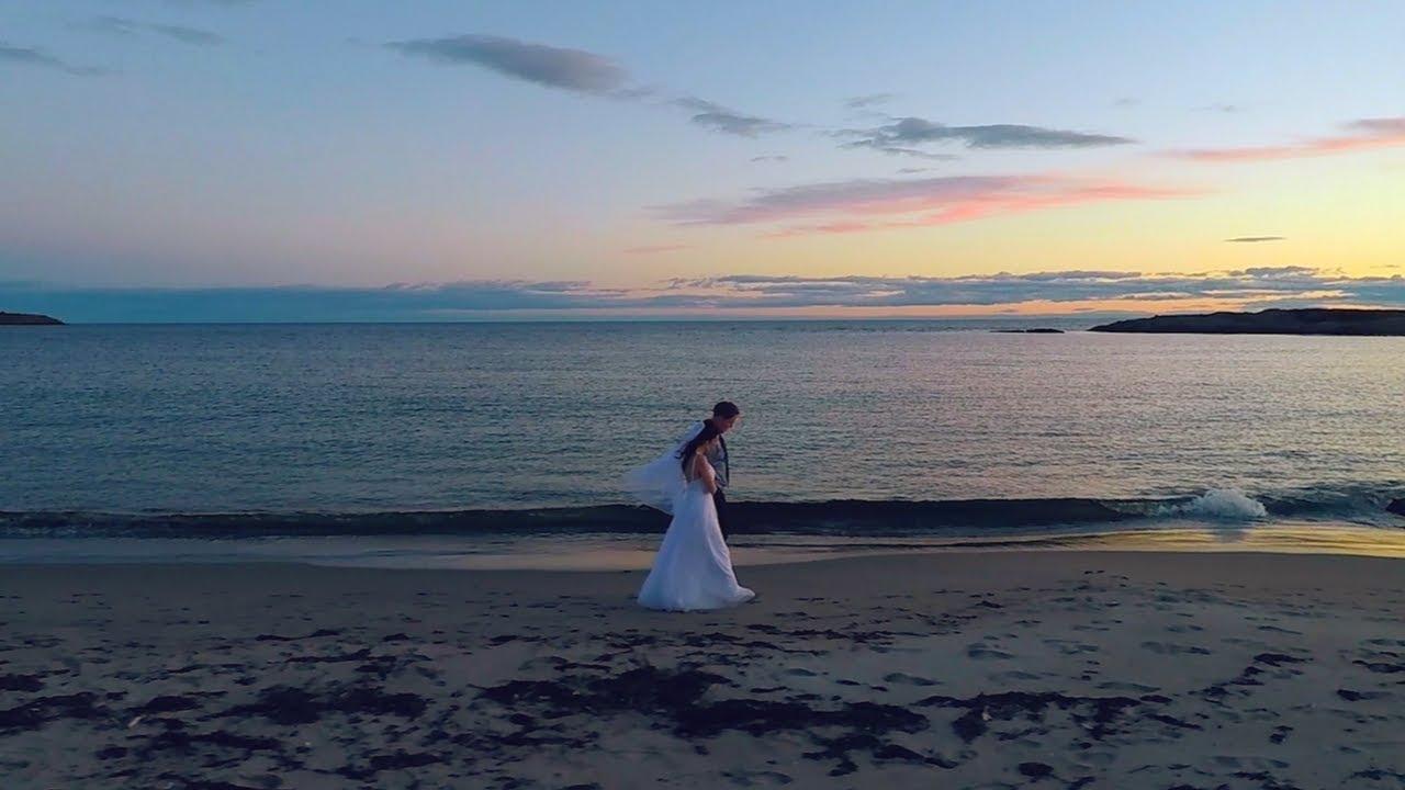 Beautiful Beach Wedding Hermit Island Me Kyle Shelby