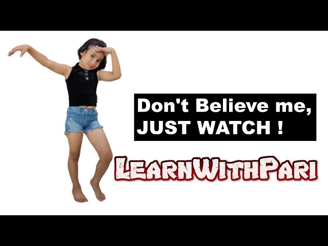 Don't Believe me, JUST WATCH ! | Mark Ronson |  LearnWithPari