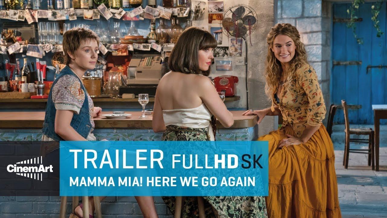 Mamma Mia! Here We Go Again (2018) oficiálny HD trailer #2 [SK]