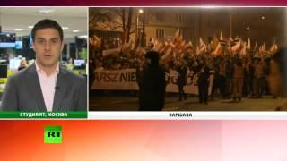 Канал новости  Президент Польши извинился за нападение националистов на российское посольство