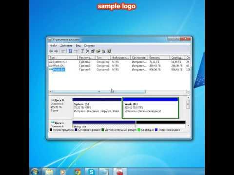 видео: Как удалить свой виртуальный диск на windows 7.