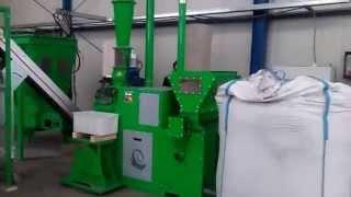 Установка RECOMILL для извлечения меди из пластиковой изоляции(Recomill предназначена для выделения медного среза из отходов изоляции, образующихся в процессе переработки..., 2015-11-23T14:12:57.000Z)