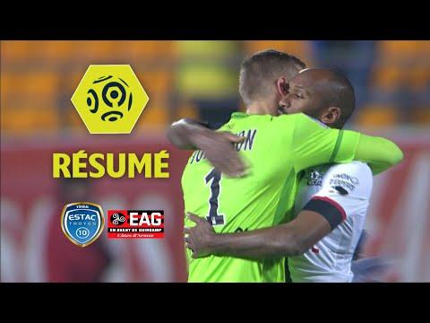 ESTAC Troyes - EA Guingamp (0-1)  - Résumé - (ESTAC - EAG) / 2017-18