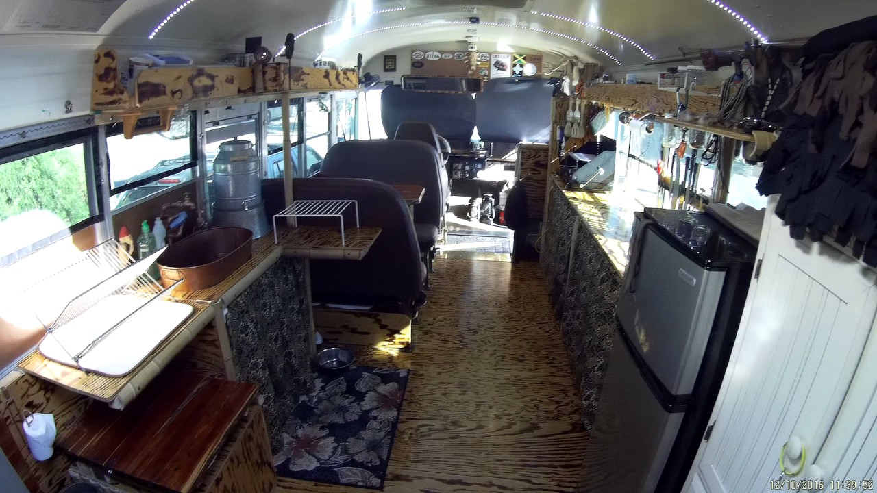 our 1850 skoolie bus conversion tiny home remodel youtube