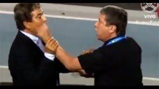 Fea imagen dejaron Bolillo y Pinto en la Copa Centroamericana