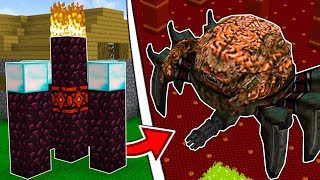 HOW TO SUMMON THE BIGGEST MINECRAFT BOSS EVER!!