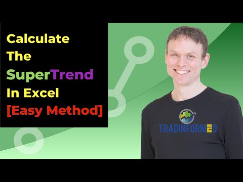 How to Calculate the SuperTrend Indicator using Excel - Tradinformed