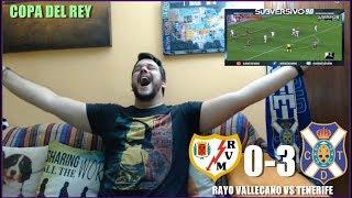 Video Gol Pertandingan Rayo Vallecano vs Tenerife