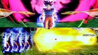 When Attacks Clash with Ultra Instinct Goku - Dragon Ball Xenoverse 2