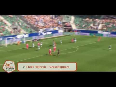 Raiffeisen Super League | Hinrunde 2013/14 | Top 20 Tore