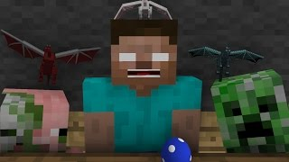 Monster School: Dragonborn - Minecraft Animation