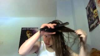 how i straighten my hair Thumbnail