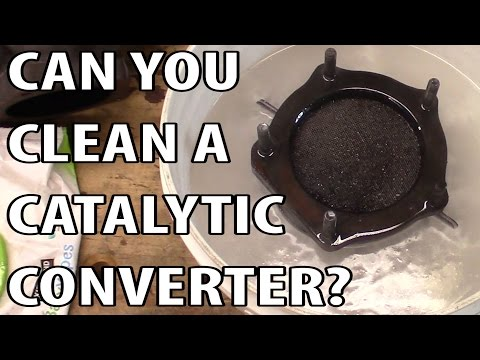Can A Catalytic Converter Be Cleaned?