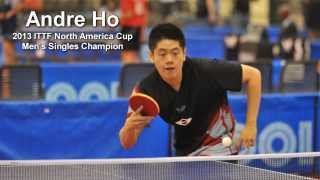 Andre Ho's Butterfly Table Tennis Equipment