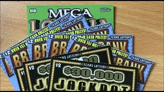 TRYING SOMETHING DIFFERENT! I'M DESPERATE! $26 Mix of Texas Lottery Tickets thumbnail
