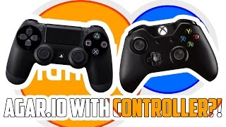 How to play Agar.io with your Playstation/Xbox controller