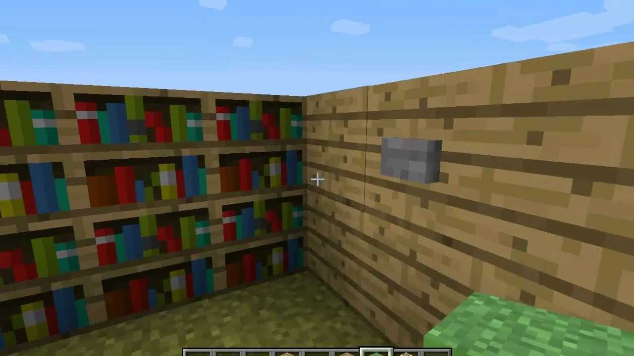 automatische boekenkast geheime deur youtube