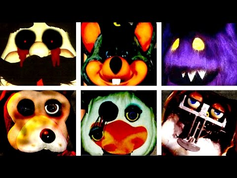 ALL JUMPSCARES: Five Nights at Chuck E. Cheese!