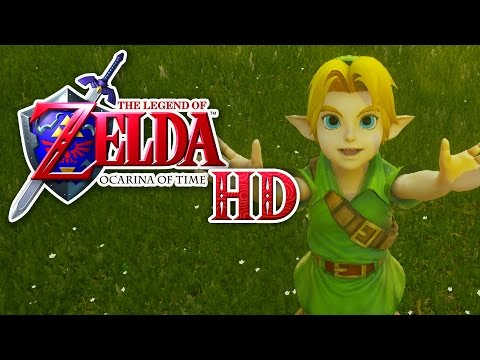 Zelda: Ocarina of Time HD  Demo Unreal Engine 4