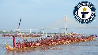 Longest dragon boat - Guinness World Records