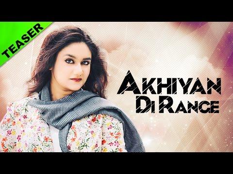 Akhiyan Di Range   Song Teaser   Rishi Dhillon   Yellow Music   Latest Punjabi Song 2016