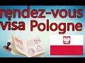 Prendre un rendez vous en ligne visa pologne