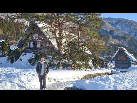 Travel To Shirakawa-Go Via Takayama In Winter Snow (Japan)