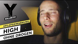 High ohne Drogen – Rauschzustand durch Licht, atmen und schwitzen