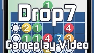 Drop7 by Zynga for iPhone and iPad Gameplay Trailer