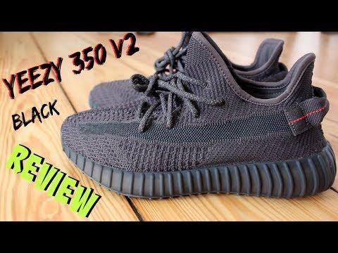 Repeat YEEZY 350 BRED V2 VS YEEZY 350 BLACK (2019