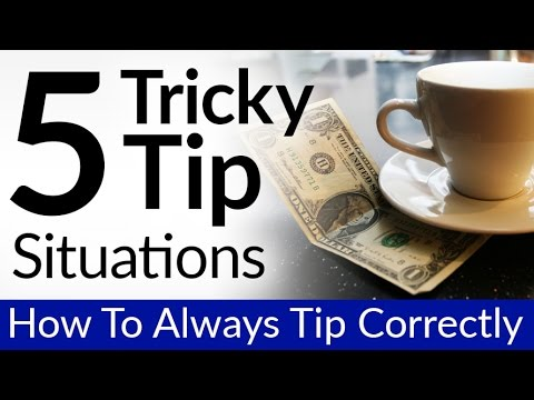 5 Tricky Tip Situations  Tipping Rules  How To Leave Gratuity Correctly  Takeout & Bad Service