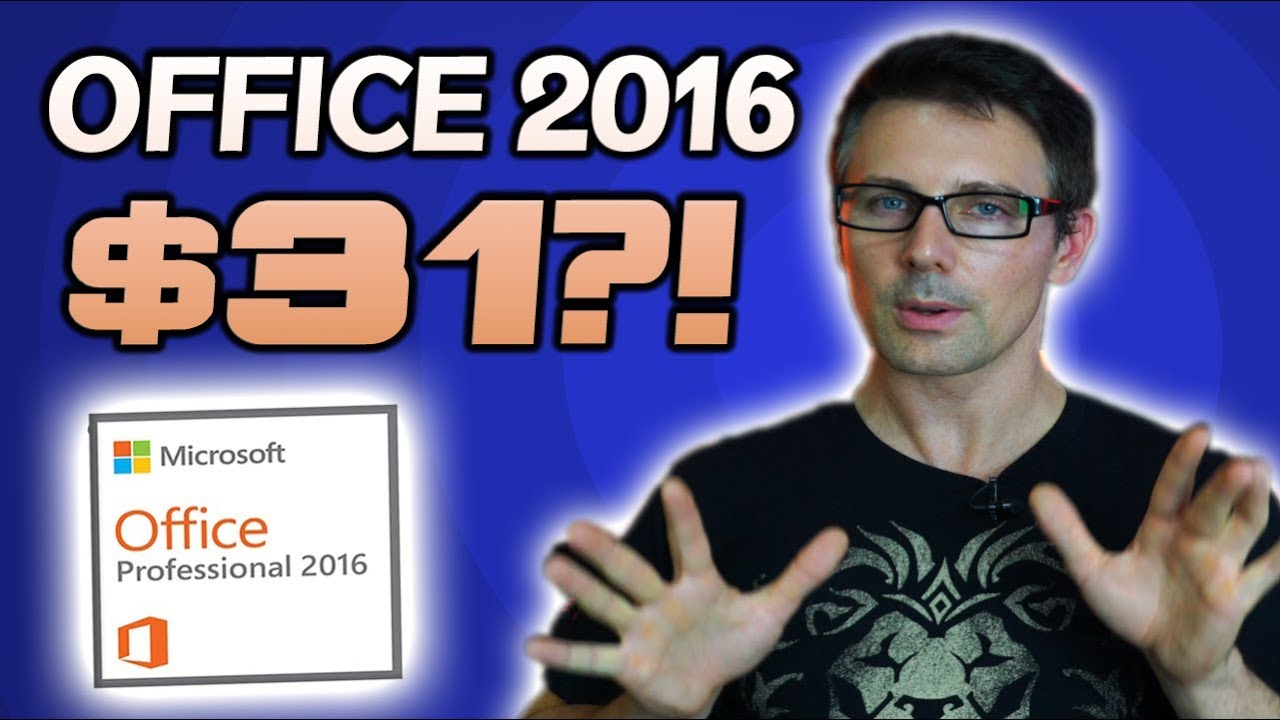 How To Buy Cheap Genuine Microsoft Office 2016 Pro Keys Quick Original License Windows 10 Tutorial
