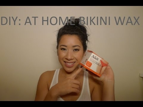 DIY: At Home Bikini Waxing Using Hard Wax