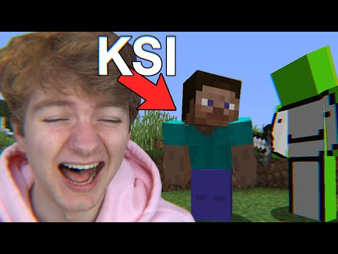 KSI is the funniest minecraft player ever - TommyInnit