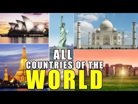 Learn Countries Of The World | All 195 Countries Of The World - World Geography With Pictures