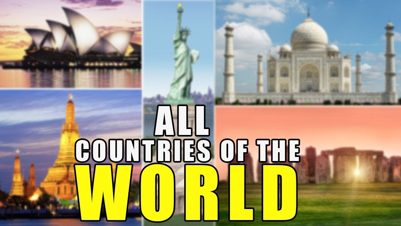Download Learn Countries Of The World | All 195 Countries Of The World - World Geography With Pictures