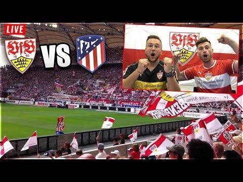 Vfb Stuttgart Atletico Madrid Live Tisischubech Kommentiert Live